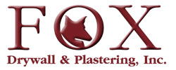 Fox Drywall logo