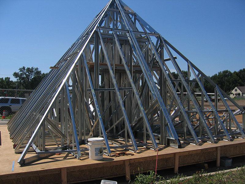 Interior Stone Veneer >> Fox Drywall and Plastering :: Metal Stud Framing